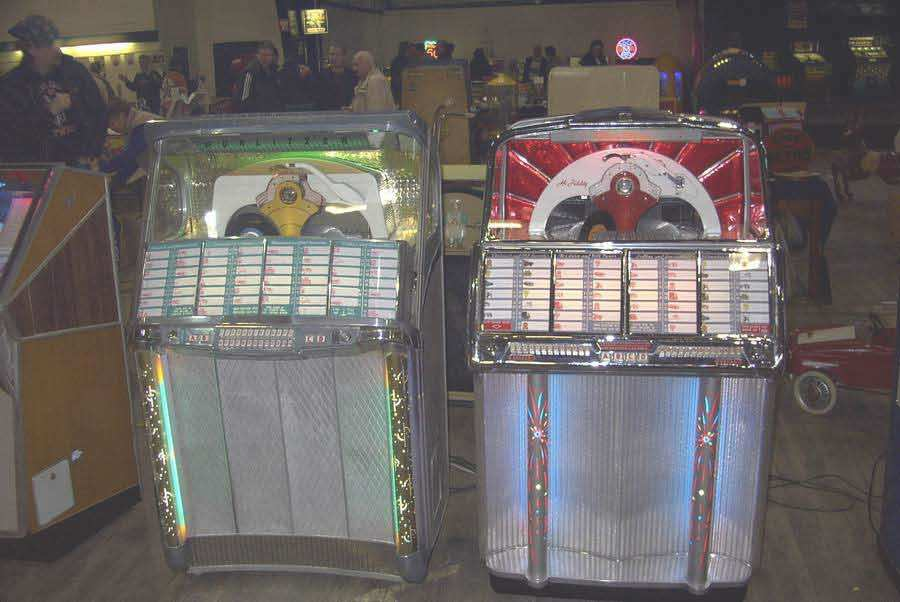 juke box jackpots pompes flippers plaques maill es collections restauration. Black Bedroom Furniture Sets. Home Design Ideas
